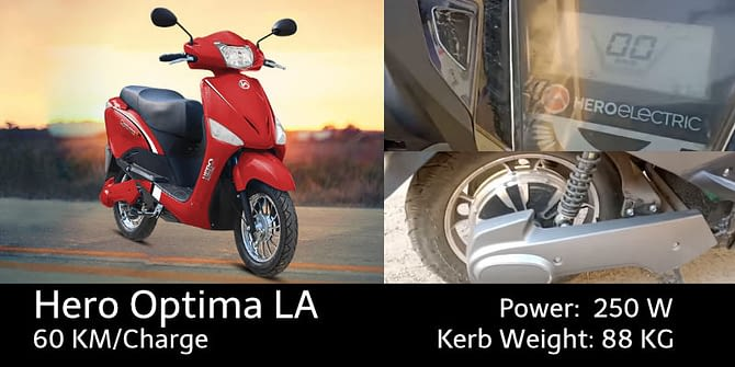 Hero Electric Optima LA
