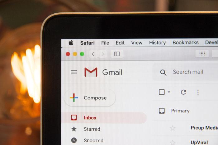 email via google mail