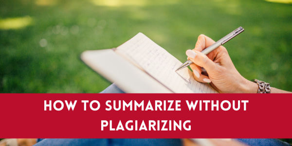 How To Rewrite Article Without Plagiarizing?