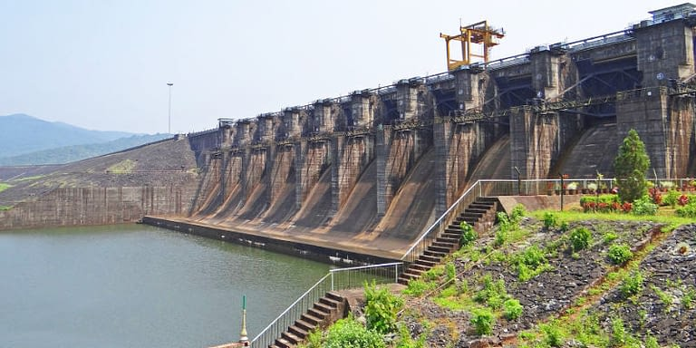 11 Mega Dams In India Constructed For Fresh Water Supply