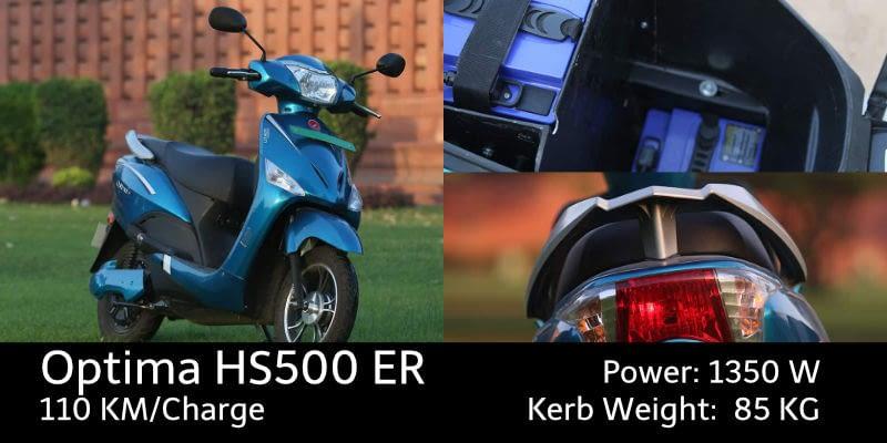 Hero Electric Optima HS500 ER