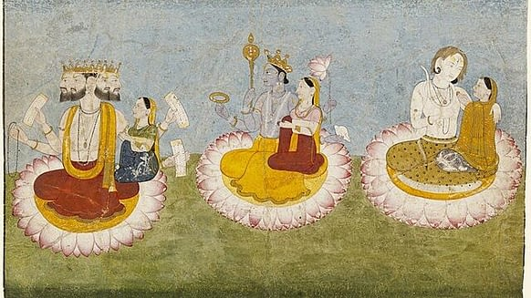 Hindu Gods With Multiple Wives