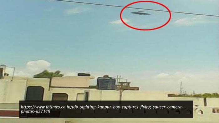 Flying Saucer Caught On Camera, Kanpur [2015]