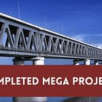 completed mega projects in india