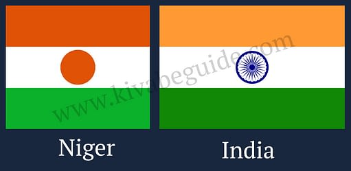 flag of Niger is very similar to Indian