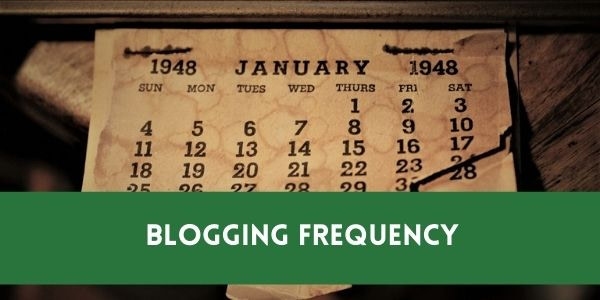 How Often You Should Blog Per Month To Make Money?